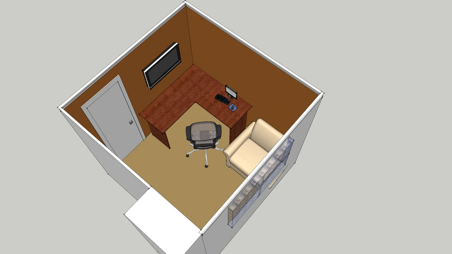 Small office/Bedroom convertsion