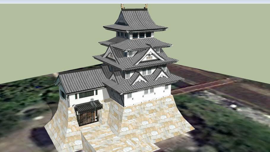 墨俣城 模擬天守
