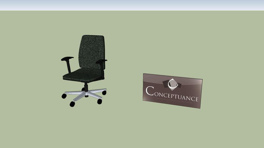 chaise bureau Réf: 40502