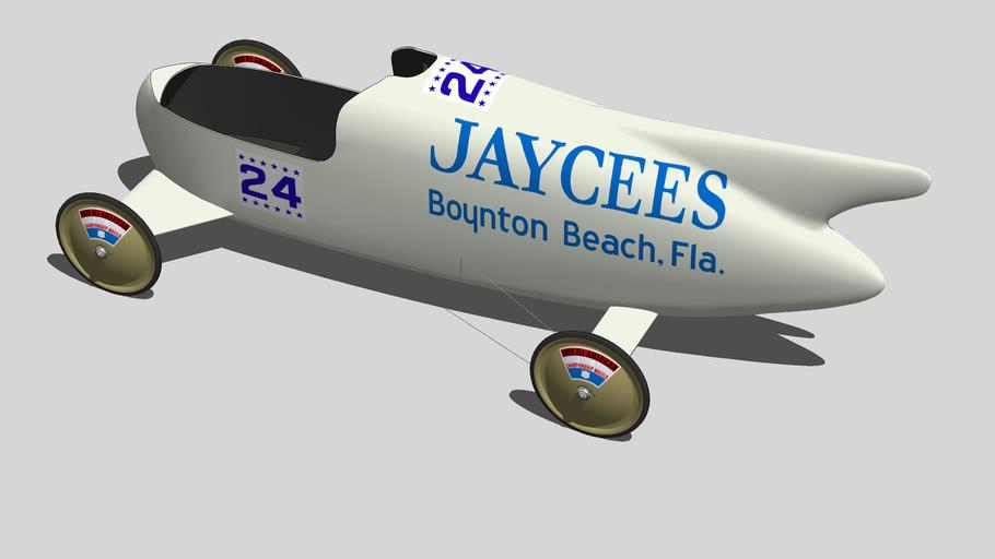 Soap Box Derby Boynton Beach, FL Champion  (1969)