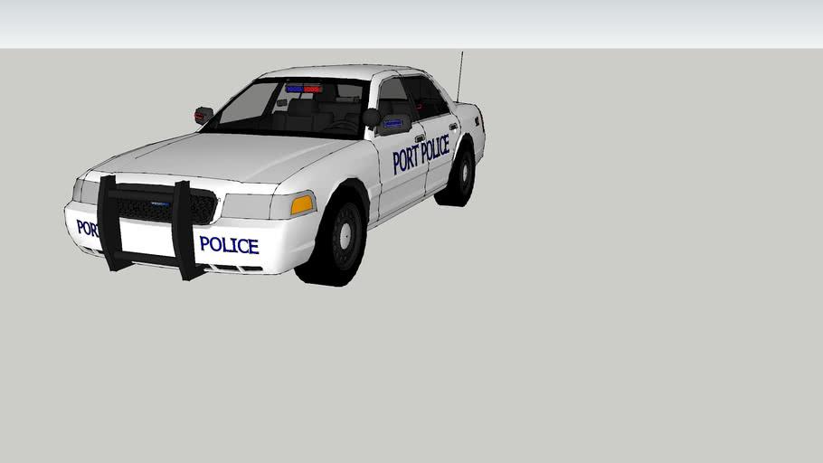 PORT POLICE CROWN VICTORIA