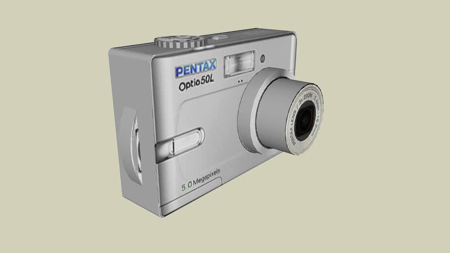 Digital Camera Pentax Optio 50L