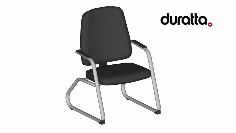 Cadeira MAX - com Braços Pé Fixo