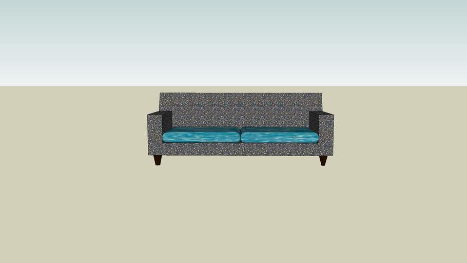 Granite Sofa with Water Cushions