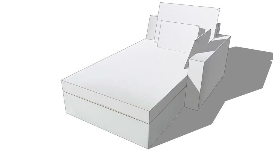 Méridienne ENZO lin blanc, Maisons du monde. Réf: 132.833 Prix:590€