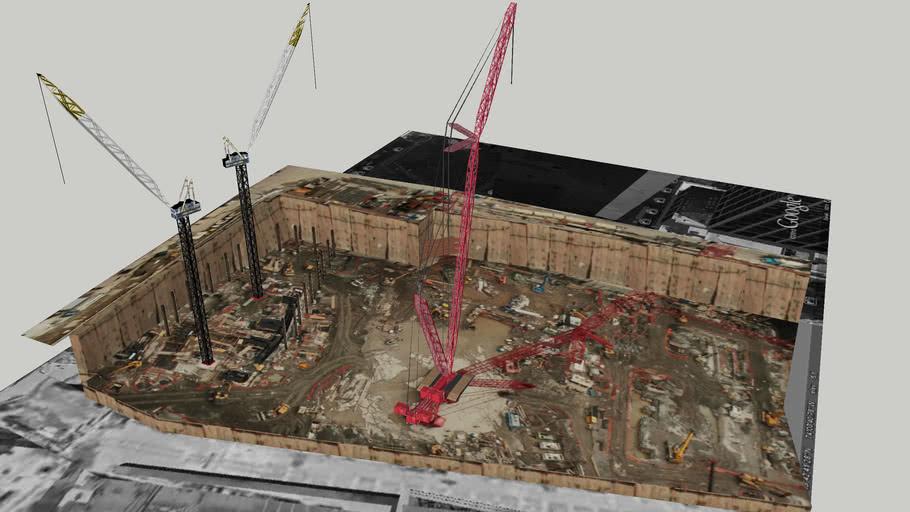 World Trade Center East Bathtub   3D Warehouse