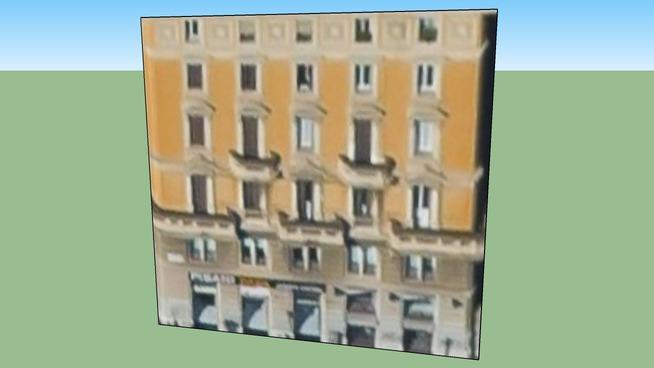 สิ่งปลูกสร้างใน โรม, ประเทศอิตาลี