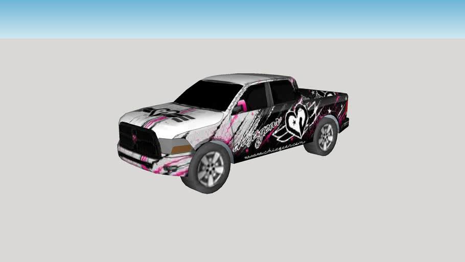 2010 Dodge Chix Gear RAM 3500