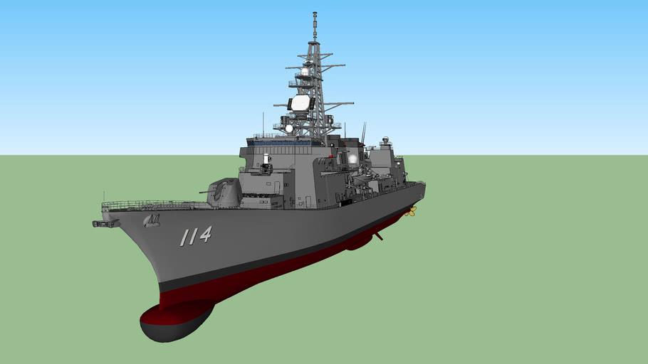 JMSDF JS Suzunami DD-114 すずなみ
