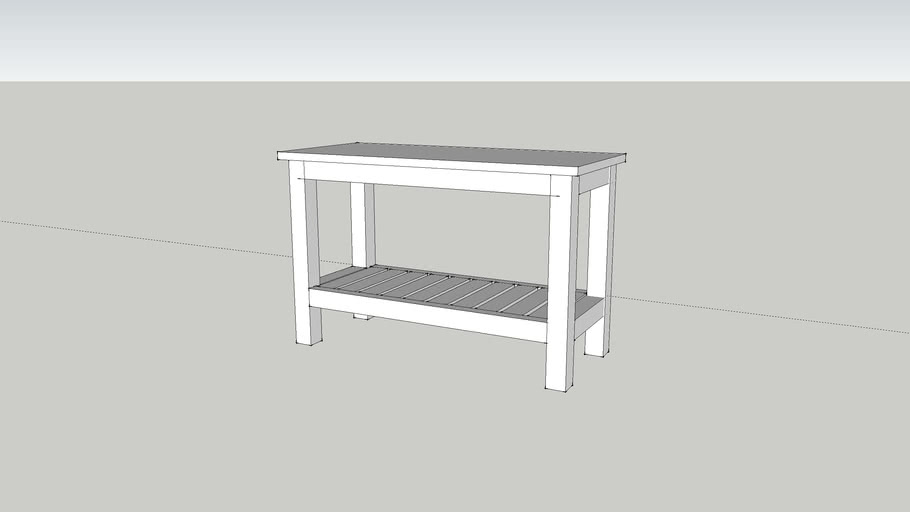 Ikea Hemnes Bench 3d Warehouse