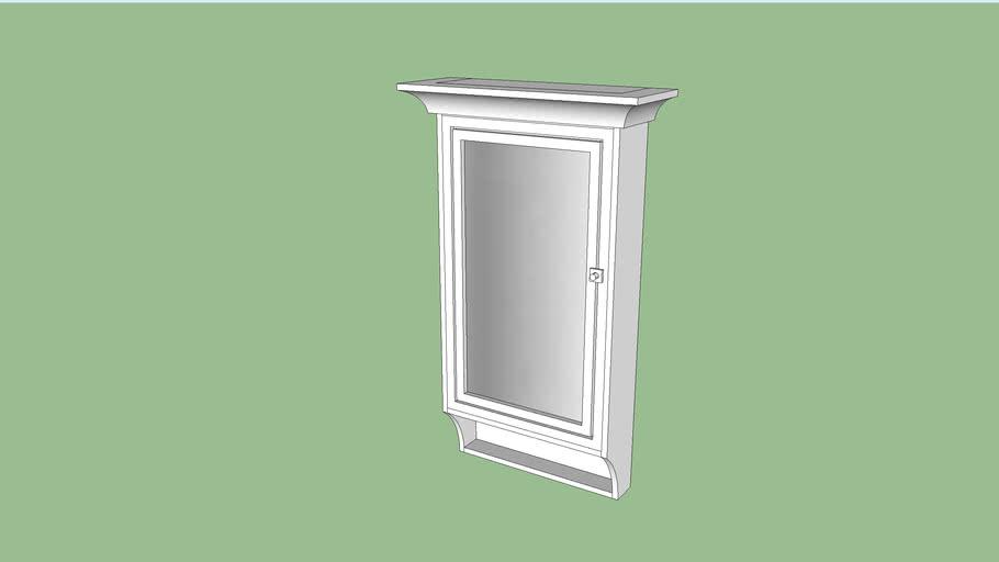 vintage vanity cabinet, armário vintage com espelho