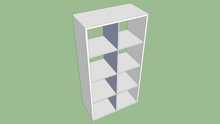 Ikea epedit bookshelf 4x2