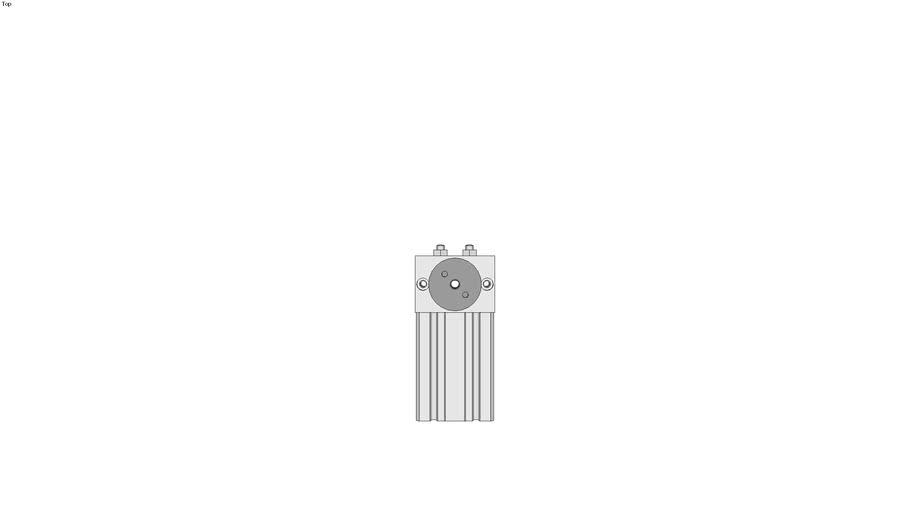 RCC metric Rotary Actuator