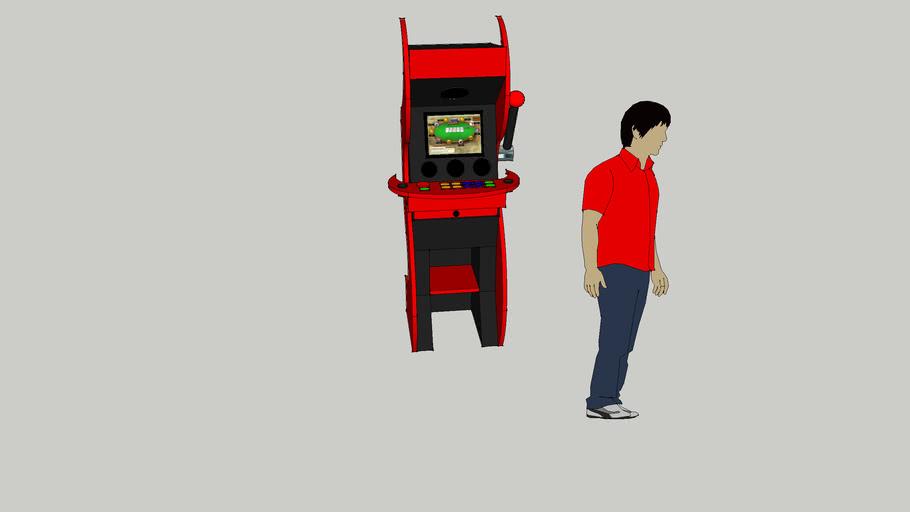 Video Poker Arcade Cabinet