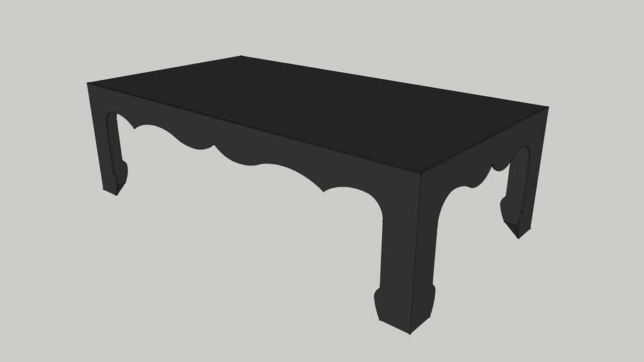 CI - Selma Coffee Table (Iron)