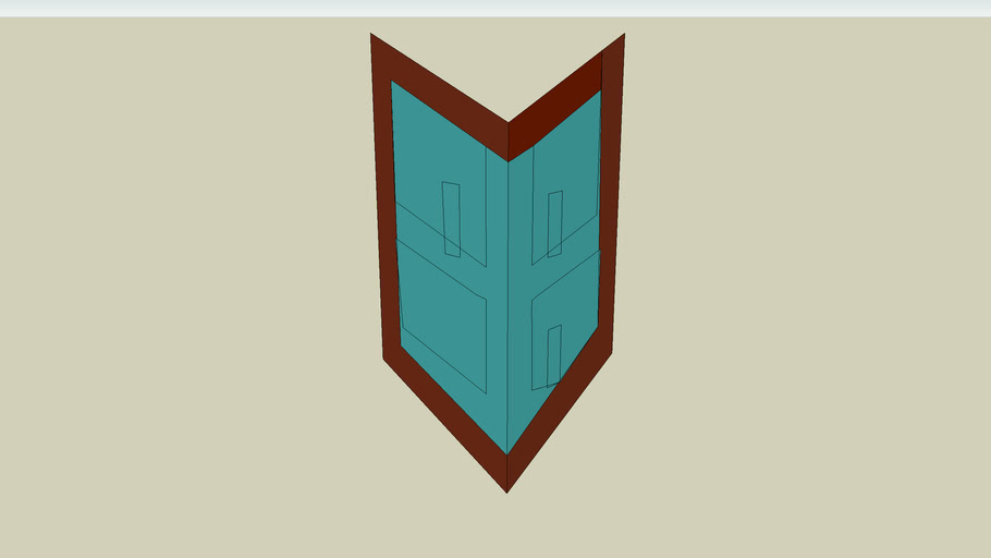runescape rune kite shield( im new to sketchup)