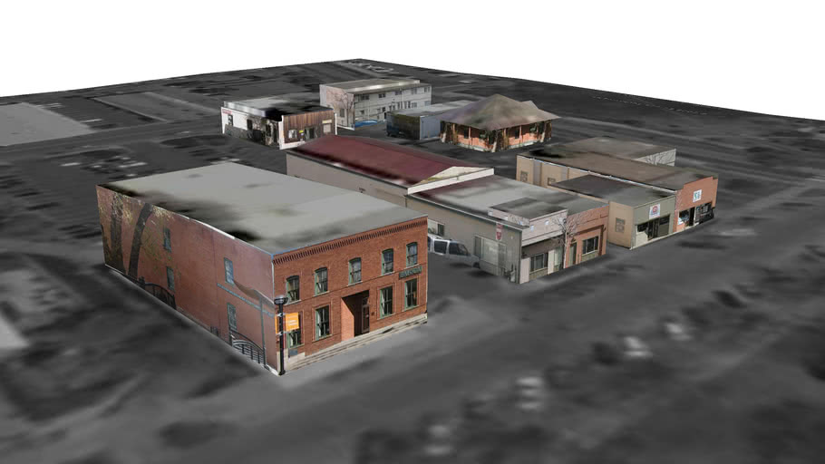 Model of 14th and Arapahoe NW