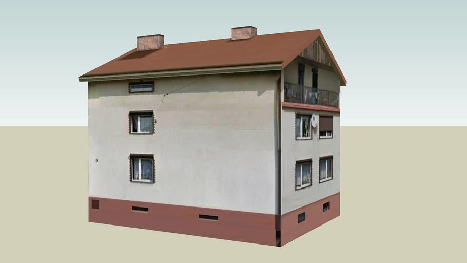 Imielin, dom przy ul. Aptecznej 9