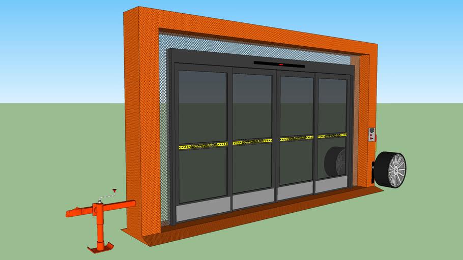 Portable Automatic Sliding Door 2
