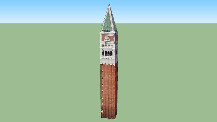campanile piazza San Marco a Venezia VE, Italia