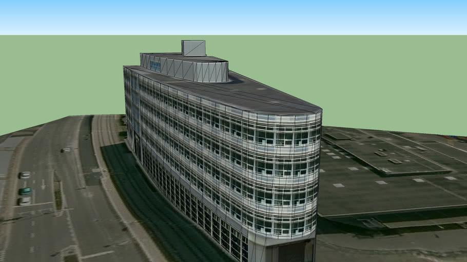Gebäude am Flughafen Zürich