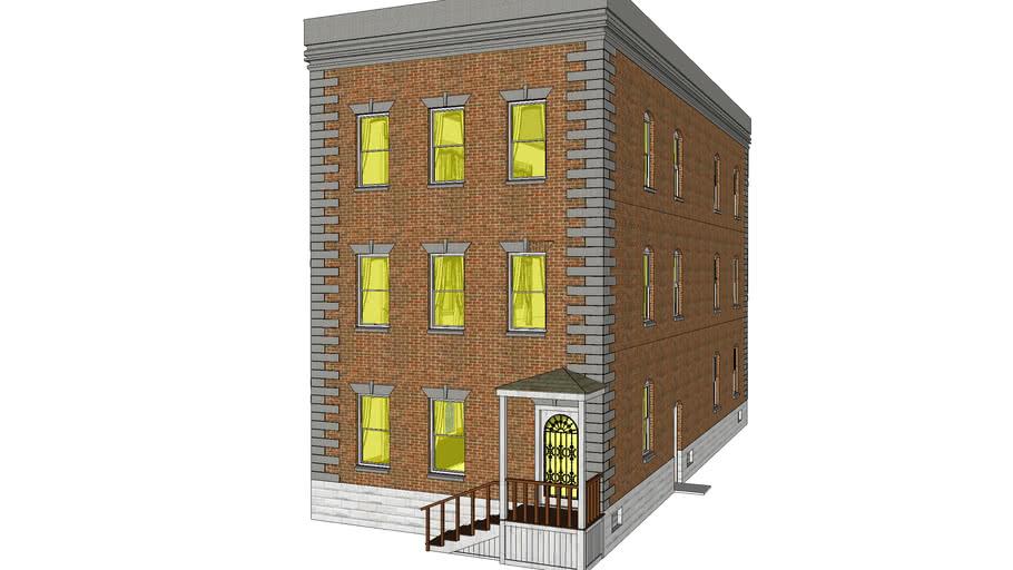 APARTMENT BUILDING - 813 JAY STREET - UTICA NEW YORK