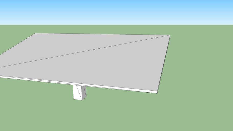 Mechatron S140 - Single Axis Solar Tracker - 20deg Tilt Configuration