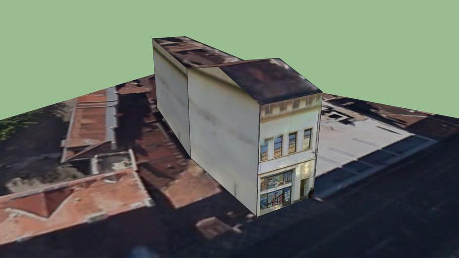 Building on Muresenilor street, Brasov