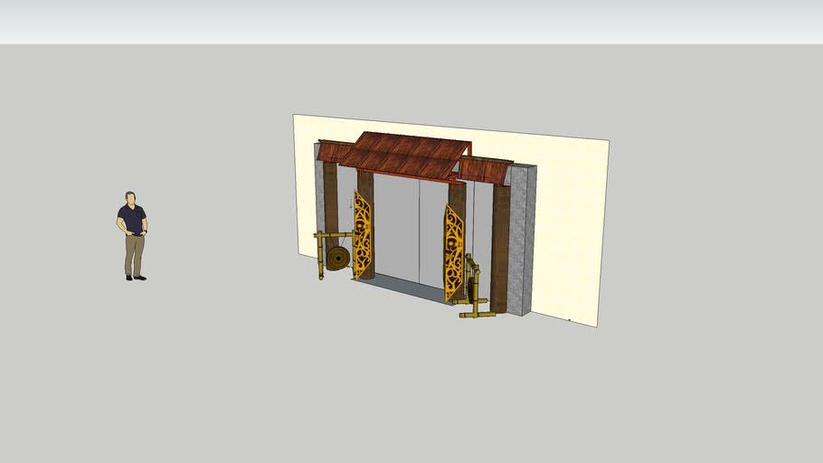 Gawai Dayak Main Entrance