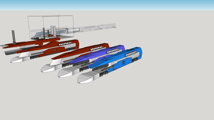 Galaxy Railways SDF 034 (HO Scale)