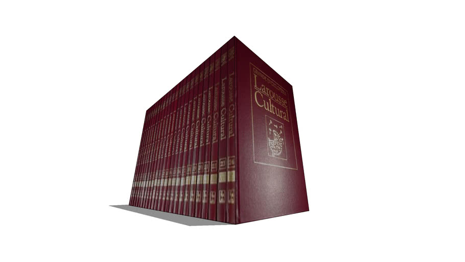 Enciclopédia Larousse Cultural - Completa 24 Vol.