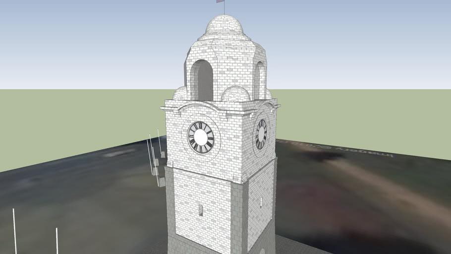 Seymour Square Clocktower, Fountain and War Memorial