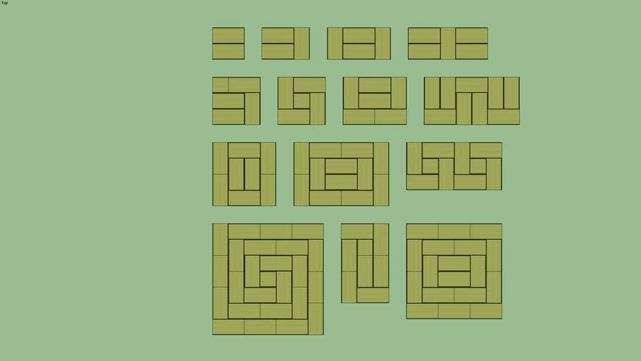 Tatami Patterns 1