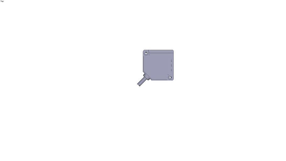 Photo-electric sensors OSIRIS Design Compact 18x50x50 mm Mono system Optimumdiffuse...