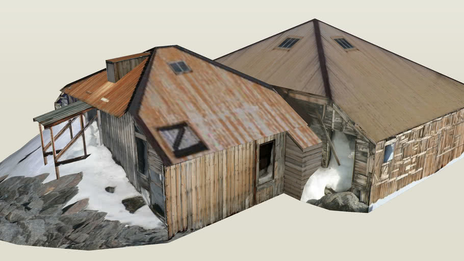Mawsons Main Hut