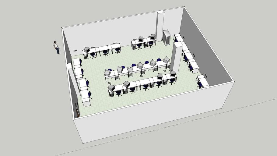 As-Is Block A KSJ Computer Lab