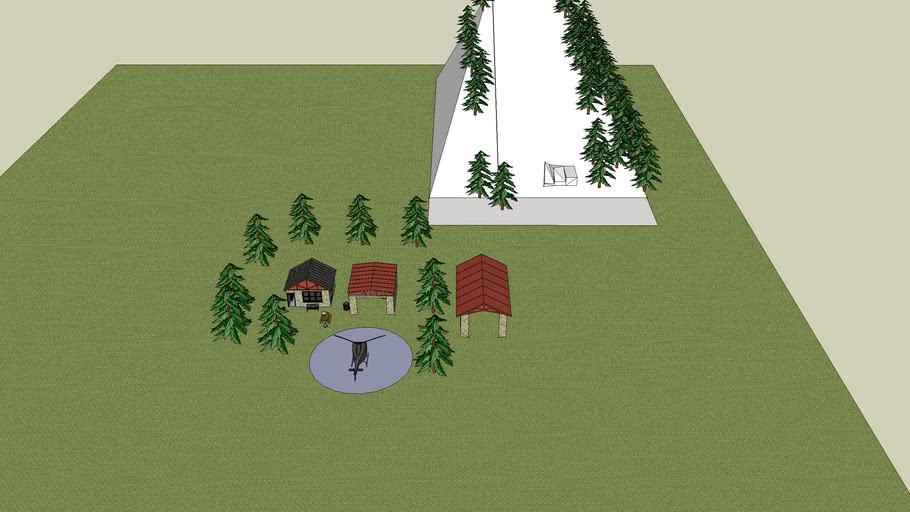 ma nouvelle cabane