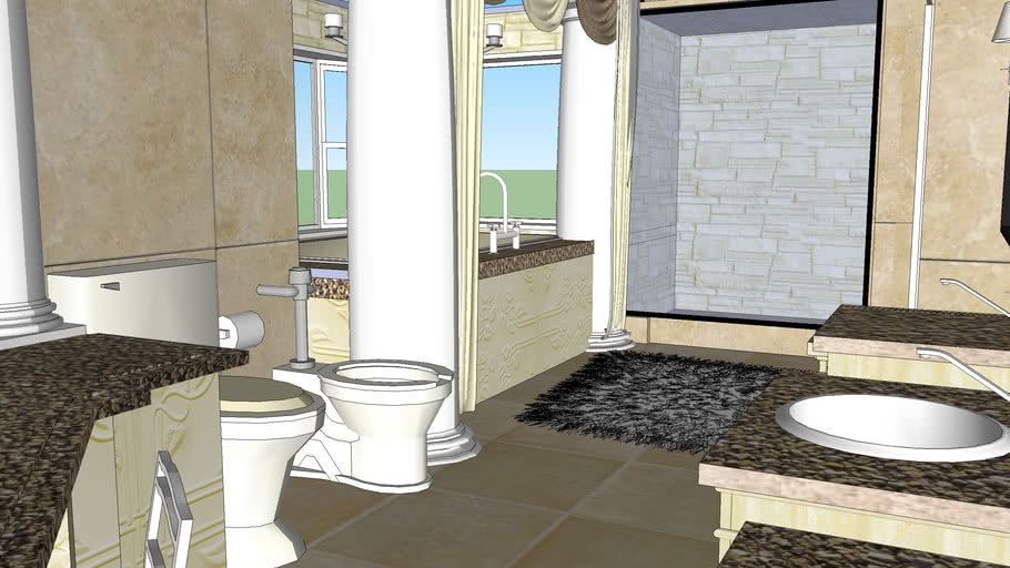 Master Bedroom And Bath 3d Warehouse
