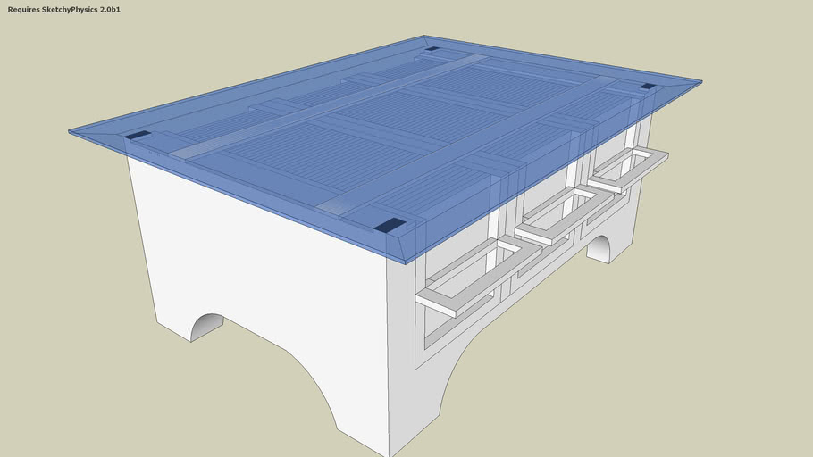 Dvd Storage Coffee Table 3d Warehouse