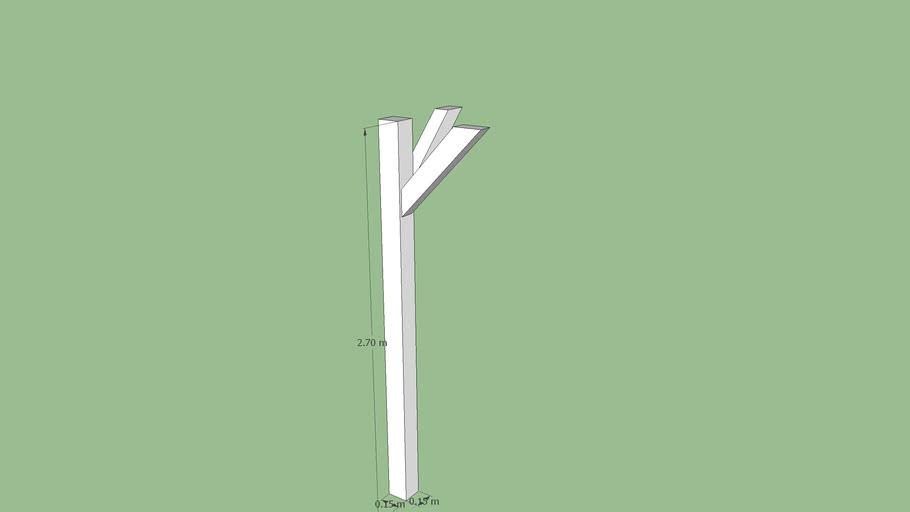 poteau d'angle