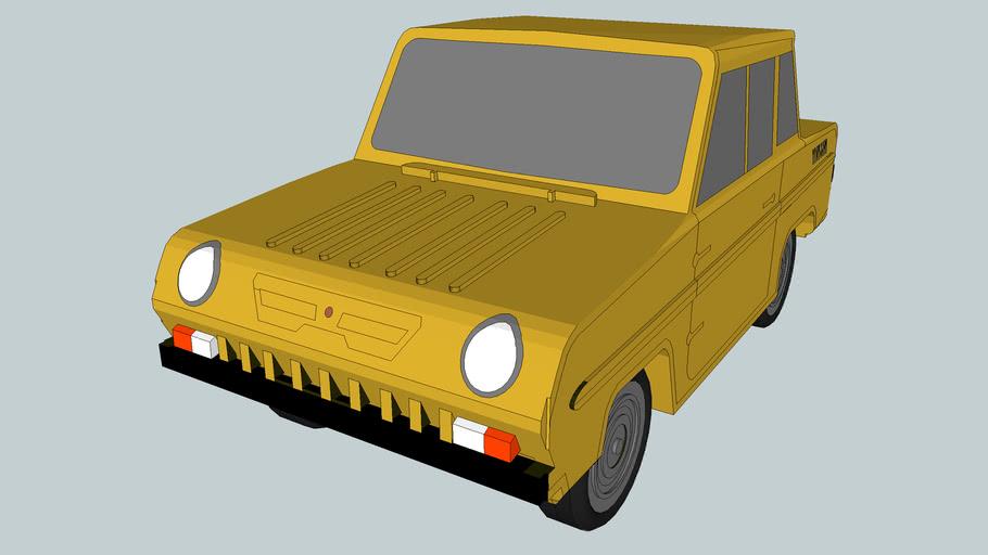 Sovětské terenní vozidlo C3D
