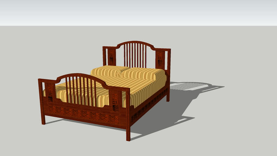 Chippendale Bed