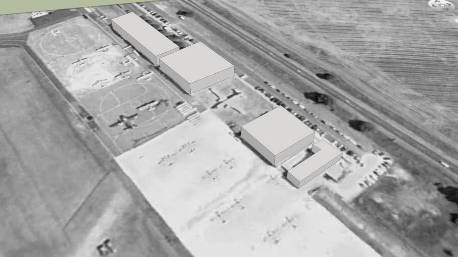 Evora Airfield's Buildings