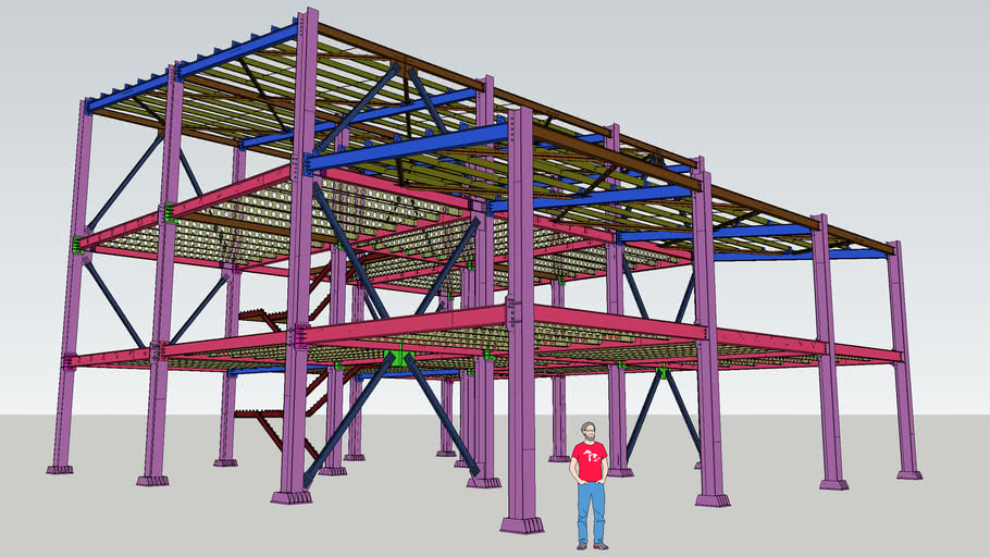 Copper mine - Steel Structure Office