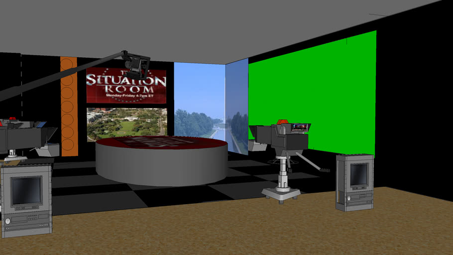 CNN's The Situation Room Set