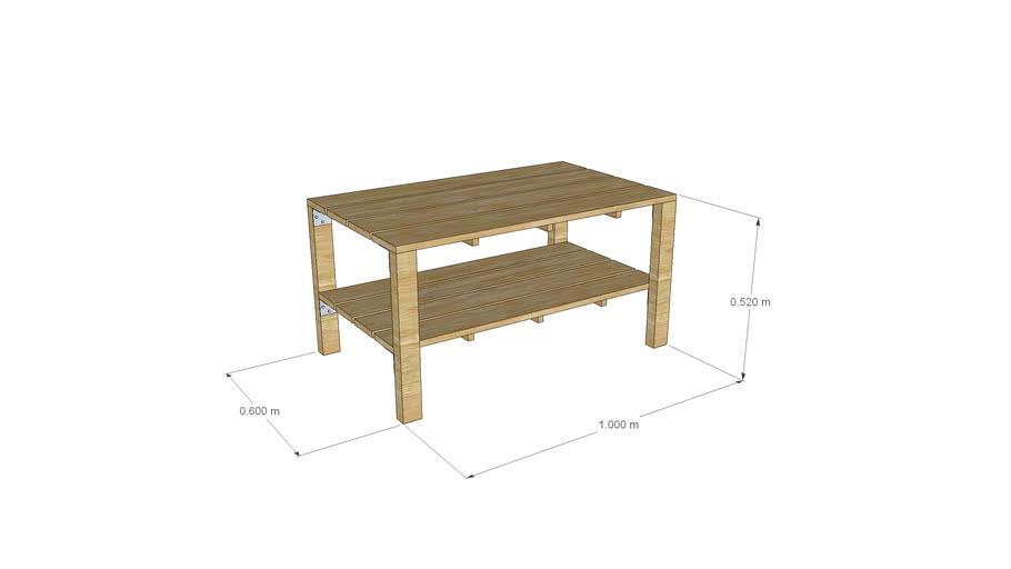 Table - Стол двухярусный
