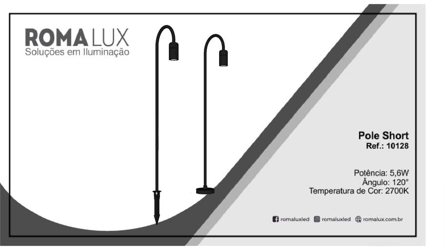 Romalux - Pole Short - 10128