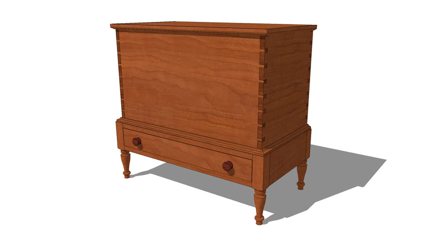Blanket Chest (New England One Drawer)