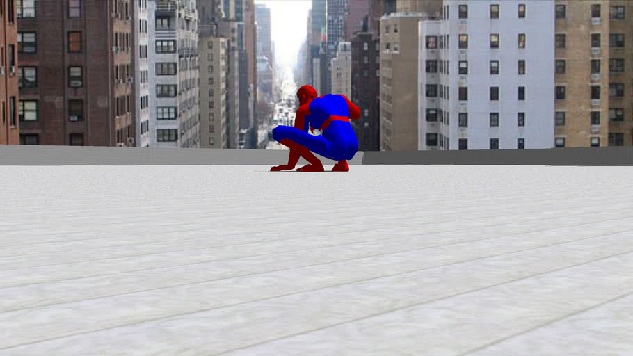 Spiderman & The Building