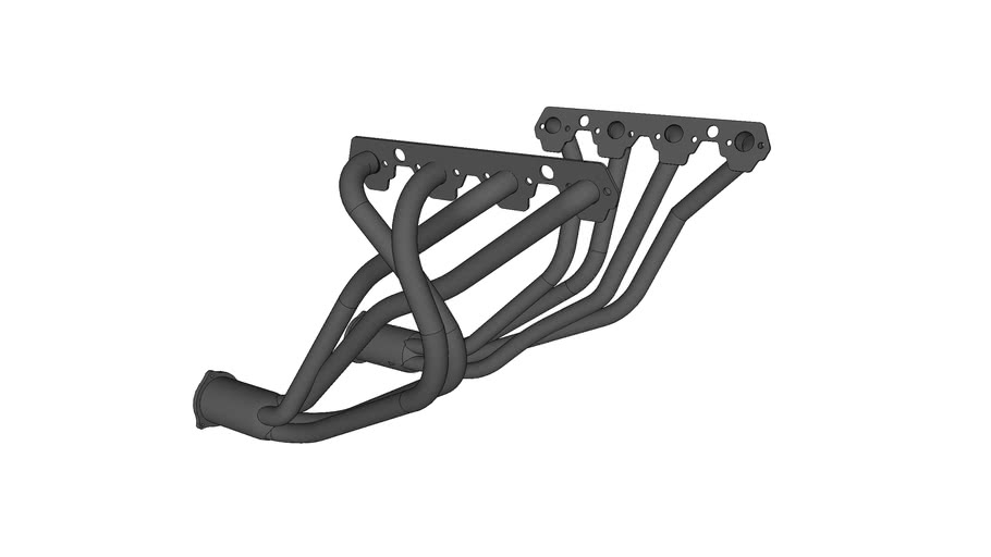 ford style headers